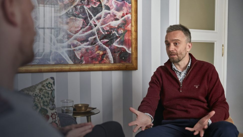 Vztaholog Michal Nikodem –Terapeutické sezení