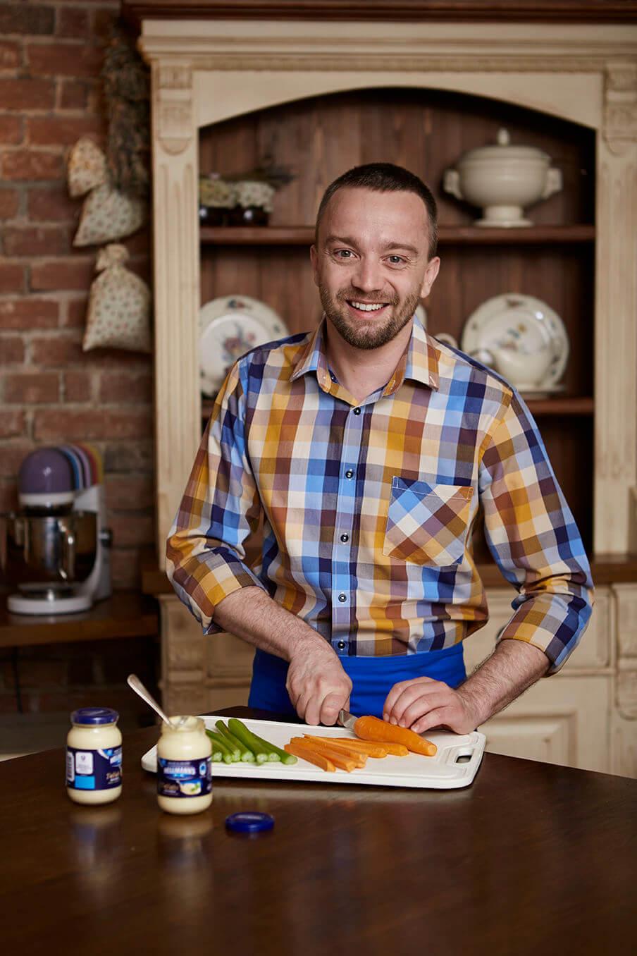 Michal Nikodem jako zakladatel Školy vaření